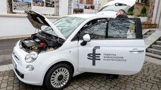 Polski samochód elektryczny. Mały, zwinny, już... całkiem szybki i ze sporym zasięgiem - Polsat News Fiat 500, Motorcycle, Vehicles, Car, Automobile, Biking, Motorcycles, Cars, Vehicle