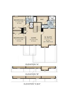 1382 Best Floorplans images | Floor plans, House floor plans, Flex Centex Homes Floor Plans Pembroke on
