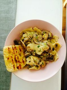 Mushroom and leek pasta (Gordon Ramsay)