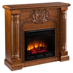 Crawford Electric Fireplace.