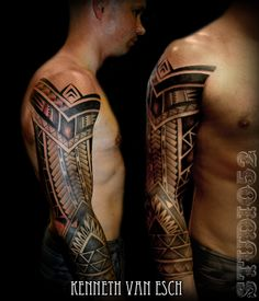 Tribal Sleeve by Kenneth Van Esch , Tattoo @ Studio 52, Seapoint Main Road, Cape Town. #Tattoos52 #Studio52 www.studio52.co.za