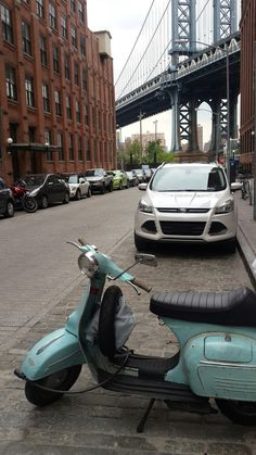 Vespa in Brooklyn