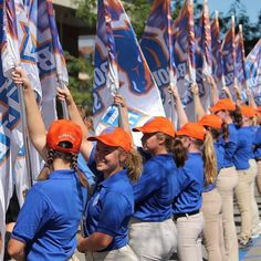 Game Day Broncos!  @btcolorguard will open the season with new flair. Cheer them at the tailgate parade and on The Blue!  #boisestate #bleedblue