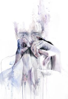 There is no room for oxygen, no room for light, laughter or trust, when all you know is pain.      Agnes Cecile
