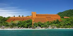 Las Brisas, Ixtapa - not the carib but beautiful in a different way.  My favorite hotel!!
