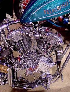 Beautiful Knuckle He Moteurs Harley Davidson, Harley Davidson Knucklehead, Harley Davidson Motorcycles, Motorcycle Engine, Motorcycle Art, Bike Art, American Motorcycles, Vintage Motorcycles, Custom Motorcycles