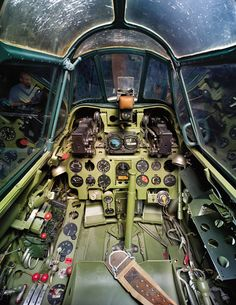 Mitsubishi A6M5 (Zero Fighter) Model 52 Cockpit
