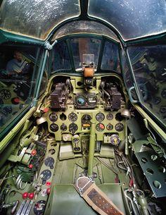 Mitsubishi A6M5 (Zero Fighter) Model 52 Cockpit