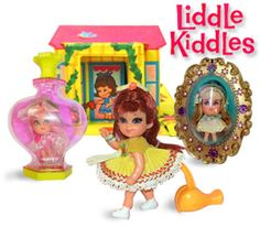 Liddle Kiddle Dolls 1960s I still have my walker doll - identical to the one here!
