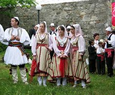 Folklore Troupe, Olive Oil Day, Appolonia, Albania