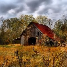 Autumn Barn....looks like a Bob Ross painting!#Repin By:Pinterest++ for iPad#