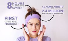 ASMR Sleep Phones - SleepPhones launched a new product that offers eight hours of ASMR content, with many of my favorites from YouTube. The nice thing is that this doesn't involve a screen and you can rest comfortably on your pillow without the annoyance of earbuds or cords.
