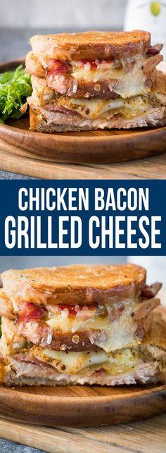 Chicken bacon ranch grilled cheese pin