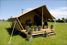 The Satara has been designed as a small Safari style tent with provision for a wood burning stove. Description from albioncanvas.co.uk. I searched for this on bing.com/images