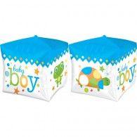 Shape Cubez Sweet Baby Boy Block $9.95 U28381 Disney Balloons, Helium Balloons, Foil Balloons, Latex Balloons, Wholesale Party Supplies, Kids Party Supplies, Wedding Balloons, Birthday Balloons, Balloon Decorations