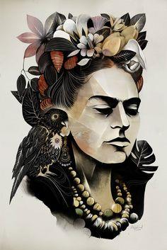 Frida Kahlo (Inspiração pra Vida)