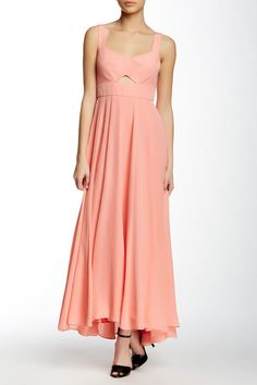 ffd3bb0ec2c Rebecca Taylor - Sleeveless Faille Cutout Dress at Nordstrom Rack. Free  Shipping on orders over