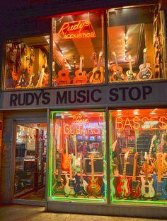 Rudy's Music Store, New York City. Nikon D3100