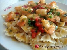 Great recipe for Shrimps with a citrus flavor. Shrimps with a very tasty and light dressing, ideal for a first course. You can make it in 10 minutes. Recipe by alfina Everyday Food, Fish And Seafood, Pasta Salad, Risotto, Potato Salad, Macaroni And Cheese, Shrimp, Cooking Recipes, Ethnic Recipes
