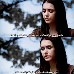 Image de Nina Dobrev, quote, and the vampire diaries