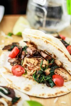 THE BEST WAY to prepare chicken! Try out these Margarita Chicken Fajitas from Cravings cookbook.