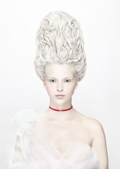 "The Look: Marie Antoinette  - ""Á La Victime"" by Alexia Sinclair. #rococco return"