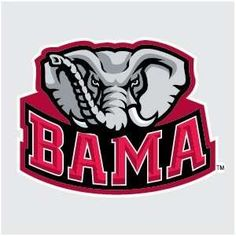 9 best go bama images on pinterest crimson tide football roll rh pinterest com alabama crimson tide football clipart alabama crimson tide football clipart