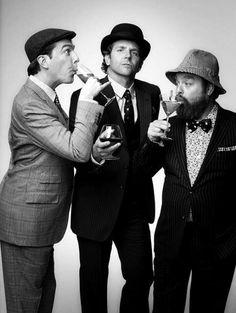 the hangover boys.- the three classiest men