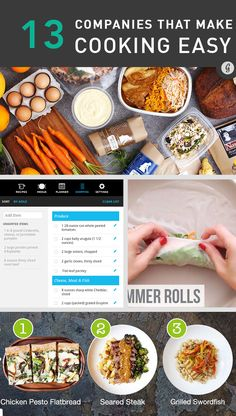 Ever wish making dinner at home were just a little less of a chore? These delivery companies... #health #food http://greatist.com/health/companies-healthy-home-cooking