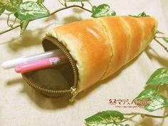マリさんベーカリーのチョココロネのペンケース | ハンドメイド、手作り作品の通販・販売 minne(ミンネ)