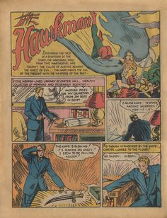 Flash Comics 001 (1940)  Hawkman (First appearance) (Origin) Shiera Sanders (First appearance) (Origin)