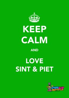 sinterklaas  keep calm poster