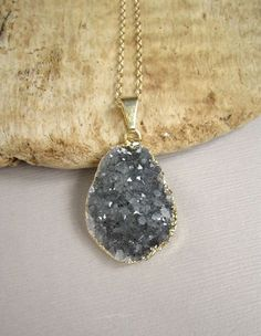 druzy necklace - Google Search