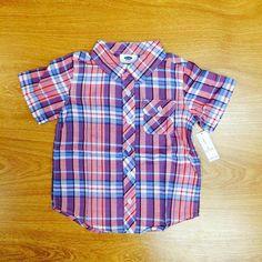 Áo sơmi nam OLD NAVY, hàng xách tay --- Giá 249K --> giảm còn 199K --- Size: 4-5 Todller (16-21 kg)  --- Đ/C: 297/17 Vĩnh Viễn,P5,Q10,TP Hồ Chí Minh --- (Chuyên bán quần áo trẻ em nhập khẩu từ Mỹ các nhãn hiệu Gymboree, Old Navy, Gap, Children Place, Crazy8...) Ship Toàn Quốc. --- Hotline:0979 398839 - http://3bee.vn/