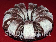 Kokosová roláda s Lučinou Krabi, Muffin, Bread, Breakfast, Desserts, Food, Morning Coffee, Tailgate Desserts, Deserts