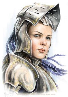 Queen Galfrey by MiguelRegodon on deviantART