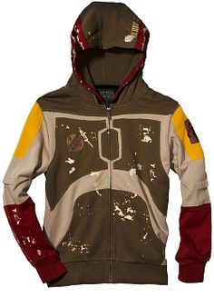 Boba Fett Cosplay Hoodie From Marc Ecko FOR MICHAEL