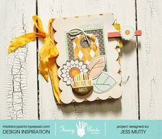 Happy Days Paper Bag Mini by Jess Mutty for Fancy Pants Designs