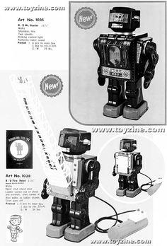 HORIKAWA'S ROBOTS
