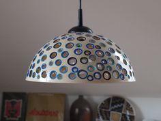 lustr keramický - BLUE keramický lustr, průměr 30 cm, cena bez elektrické šňůry Pokud byste upřednostňovali jinou barevnost zdobení, je samozřejmě možné se domluvit! :) Barevnou škálu najdete na lustru COLOUR, který se nachází v mé nabídce.