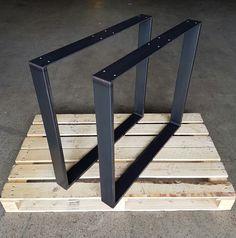 Pieds de table cadre industriels design table kufen 73-60