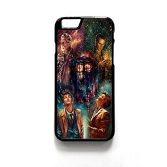 Tardis Doctor Who Dr Smith For Iphone 4/4S Iphone 5/5S/5C Iphone 6/6S/6S Plus/6 Plus Phone case ZG