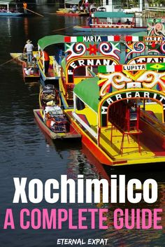 If you're looking for things to do in Mexico City, a day trip to Xochimilco is a really fun thing to do. Bring food and drinks and prepare yourself for mariachi bands and one of the best parties in Mexico City!