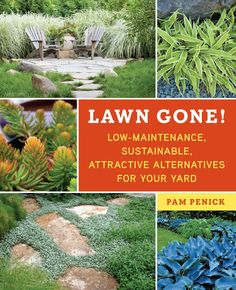 "Pam Penick's book ""Lawn Gone! Low-maintenance, Sustainable, Attractive Alternatives for Your Yard"""