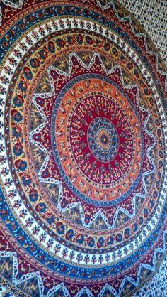 Boho Hippie Tapestry Fabric Lotus Elephant - Ganesh (Tie Dye or ...