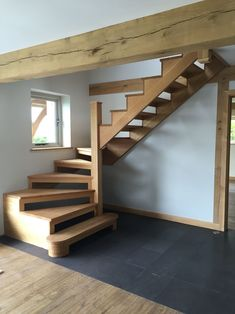Ideas loft stairs diy attic spaces for 2019 Loft Staircase, Attic Stairs, House Stairs, Staircase Design, Staircase Ideas, Stairs For Loft, Space Saving Staircase, Basement Stairs, Attic Loft