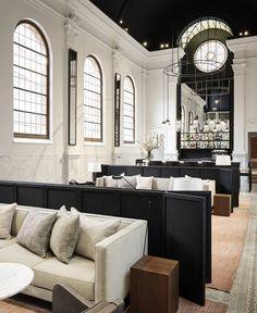 August bar in Antwerp, Belgium 🇧🇪 . Beautiful Interior Design, Decor Interior Design, Interior Decorating, Design Hotel, Restaurant Design, Restaurant Bar, Ibiza, Web Design, Modern Mansion