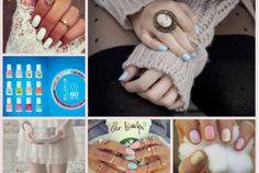 Sweater with cameo ring and light blue nails Cameo Ring, Cameo Jewelry, Sally Hansen, Light Blue Nails, Blue Nail Polish, Gold Polish, Favim, Looks Vintage, Vintage Stuff