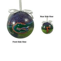 "Florida Gators Football Photo Ball Ornament ""The Swamp"" | eBay"