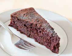 Schokoladenkuchen mit roten Rüben Rezept